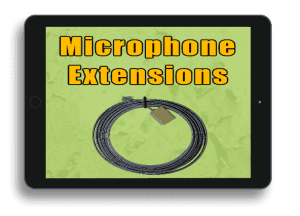 Microphone Extension Cables